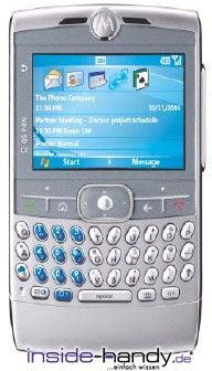 Motorola Moto Q Datenblatt - Foto des Motorola Moto Q