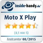 Motorola Moto X Play Testsiegel