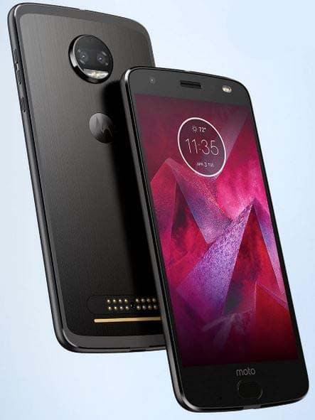 Motorola Moto Z2 Force: Pressebilder