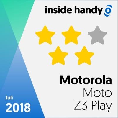 Motorola Moto Z3 Play im Test: 4 von 5 Sternen
