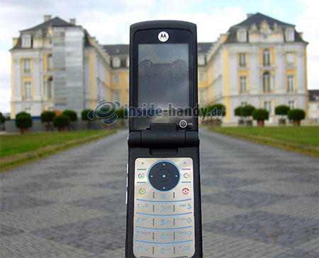 Motorola MotoKRZR K3: beim Fotografieren