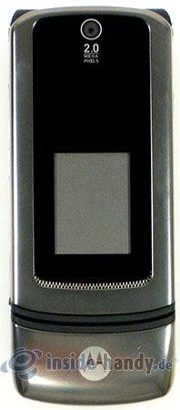 Motorola MotoKRZR K3: Größenverhältnis