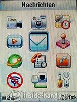 Motorola MotoKRZR K3: Hauptmenü