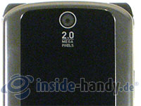 Motorola MotoKRZR K3: Kamera
