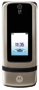 Motorola MotoKRZR K3 Datenblatt - Foto des Motorola MotoKRZR K3