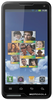 Motorola Motoluxe Datenblatt - Foto des Motorola Motoluxe