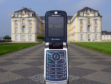Motorola MotoRAZR MAXX: beim Fotografieren