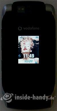 Motorola MotoRAZR MAXX: Beleuchtung