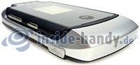 Motorola MotoRAZR MAXX: Draufsicht links unten