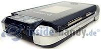 Motorola MotoRAZR MAXX: Draufsicht oben links