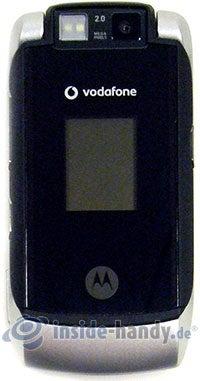 Motorola MotoRAZR MAXX: Draufsicht
