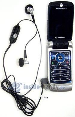 Motorola MotoRAZR MAXX: mit Headset
