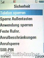 Motorola MotoRAZR MAXX: Sicherheit