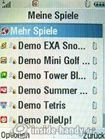 Motorola MotoRAZR MAXX: Spiele