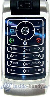 Motorola MotoRAZR MAXX: Tastatur