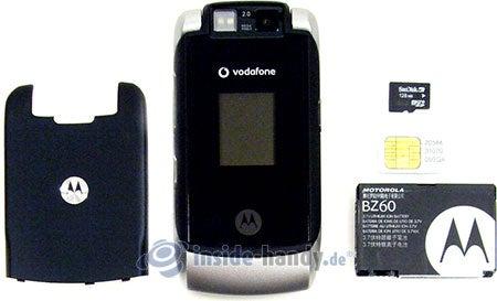 Motorola MotoRAZR MAXX: zerlegt in Bestandteile