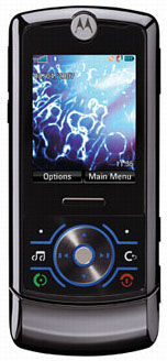 Motorola MotoRIZR Z6 Datenblatt - Foto des Motorola MotoRIZR Z6