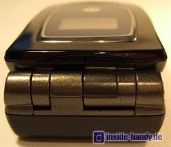 Motorola MPX200 - Oberseite