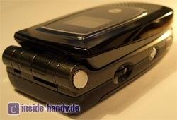Motorola MPX200 - Seitenansicht