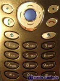 Motorola MPX200 - Tastatur