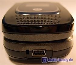 Motorola MPX200 - Unterseite