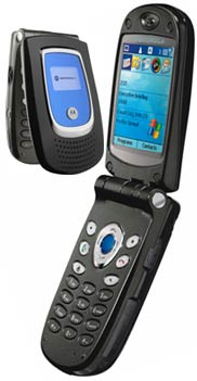 Motorola MPx200 Datenblatt - Foto des Motorola MPx200