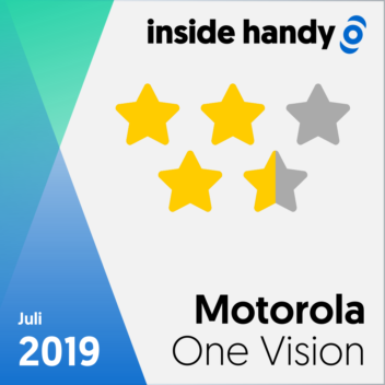 Motorola One Vision Testsiegel