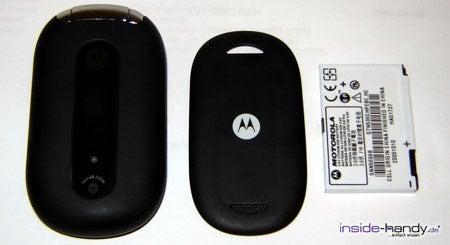 Motorola PEBL V6 - auseinander von vorn