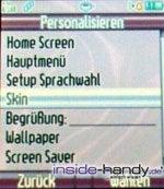 Motorola PEBL V6 - Einstellungen