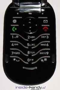 Motorola PEBL V6 - Tastatur