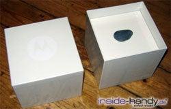 Motorola PEBL V6 - Verpackung