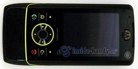 Motorola Rizr Z8: Draufsicht