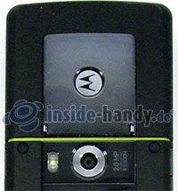 Motorola Rizr Z8: Kamera