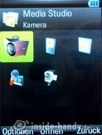 Motorola Rizr Z8: Media Studio