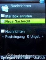 Motorola Rizr Z8: Nachrichten