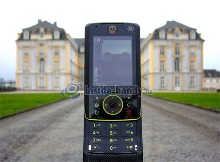 Motorola Rizr Z8: Schloss