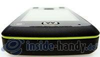 Motorola Rizr Z8: Seitenansicht oben