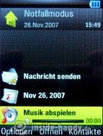 Motorola Rizr Z8: Startbild