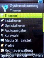 Motorola Rizr Z8: Sytemsteuerung