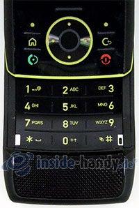 Motorola Rizr Z8: Tastatur