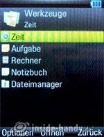 Motorola Rizr Z8: Werkzeuge