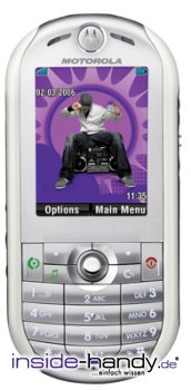 Motorola ROKR E2 Datenblatt - Foto des Motorola ROKR E2