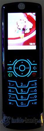 Motorola Rokr Z6: Beleuchtung