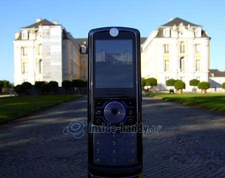 Motorola Rokr Z6: Foto Schloss