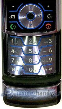 Motorola Rokr Z6: Tastatur