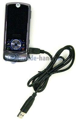 Motorola Rokr Z6: USB-Kabel