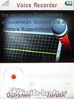 Motorola Rokr Z6: Voice Recorder