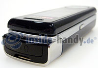 Motorola SGH-F210: Ecke oben links