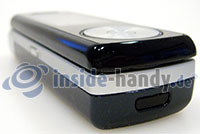 Motorola SGH-F210: Ecke unten links