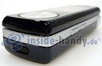 Motorola SGH-F210: Ecke unten rechts